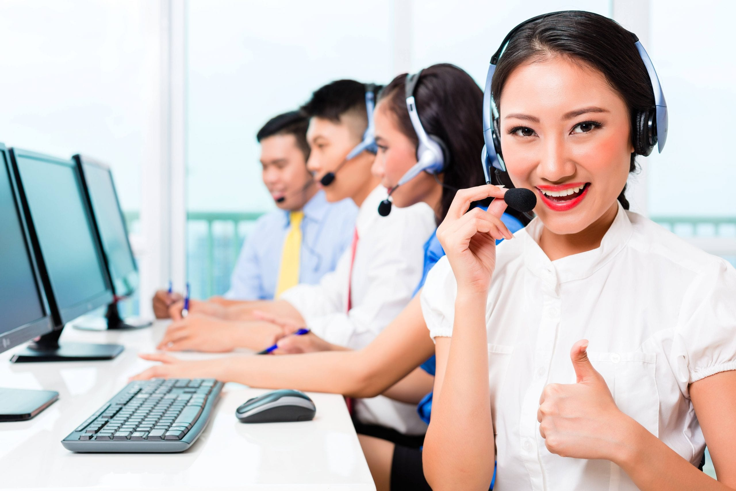 call center agent efficiency