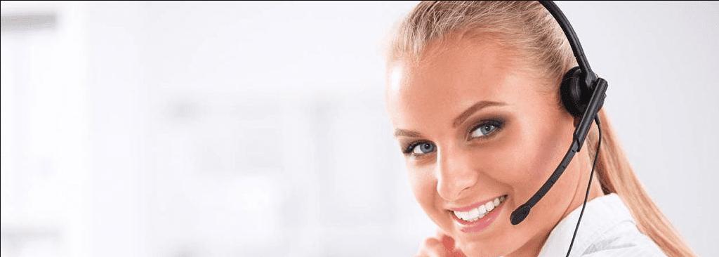 call center software female agent