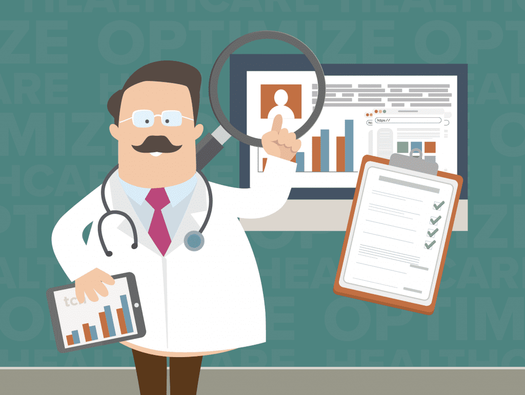 Doctor Using TCN Analytics and Data